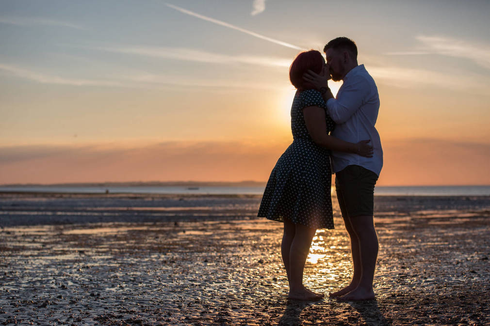 Whitstable engagement shoot | Sunset beach portraits | Kent wedding photographer | Rebecca Kathryn Photography www.rebeccakathryn.co.uk | Kent wedding photographer